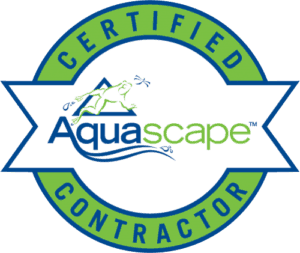 logo for certified aquascape contractor
