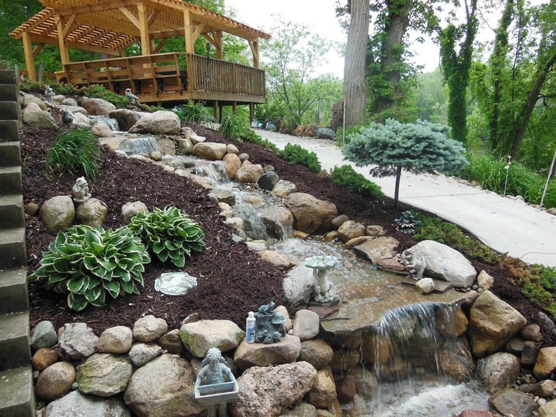 Pondless Waterfall Niles Mi Premiere Aquascapes